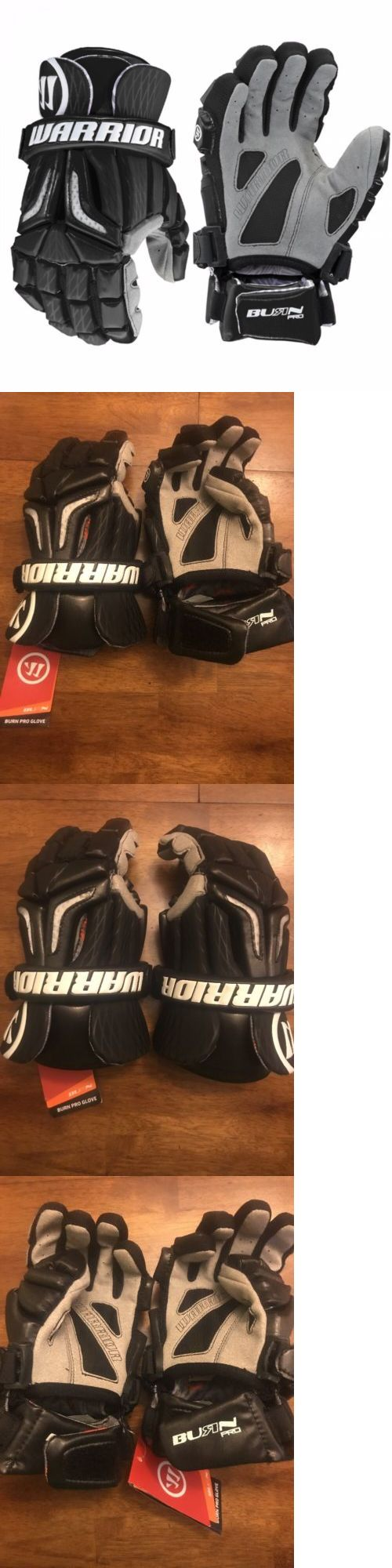 Protective Gear 62164: Brand New! Warrior Burn Pro Lacrosse Gloves Size Adult Large L Black And Gray -> BUY IT NOW ONLY: $59.99 on eBay!