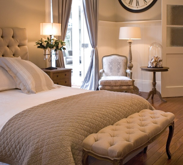 Love The Neutral Colors, The Bench At End Of Bed And The Reading Chair ·  French Master BedroomFrench Bedroom DecorFrench ...