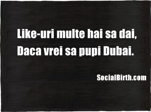 Vrei sa mergi in Dubai? - SocialBirth.com