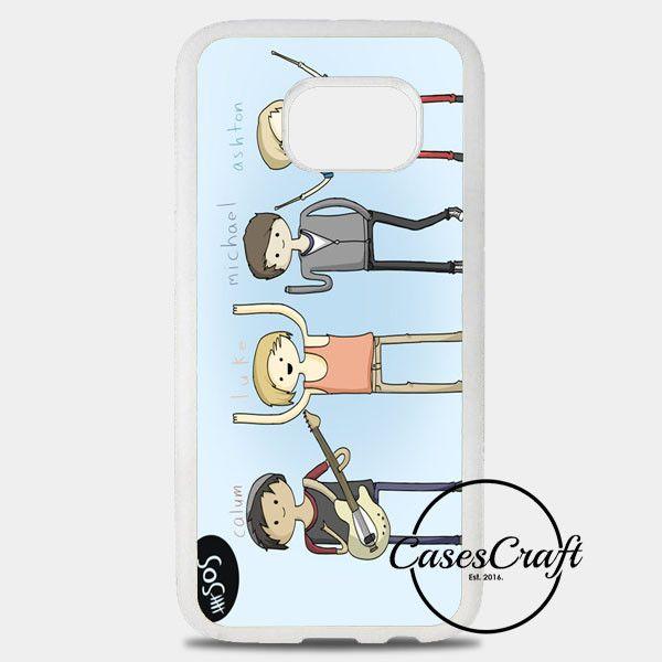 5Sos Cartoon Samsung Galaxy S8 Plus Case | casescraft