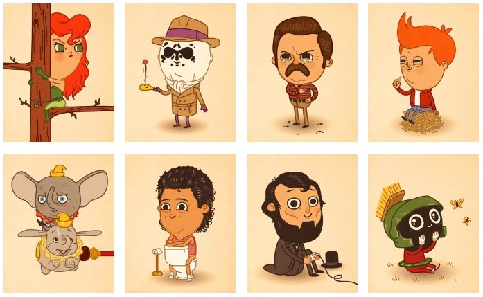 Character Design Los Angeles : Best illustration characters images on pinterest