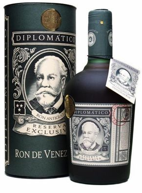 A fabulous Venezuelan dark golden rum, distilled from molasses in a copper pot still before 12 years of ageing. Rich, sweet and fruity, just how we like 'em. Diplomatico Reserva Exclusiva is one of the most awarded rums, with more than 20 awards to its name.