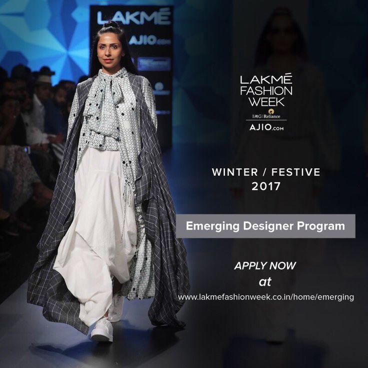 Applications for the Emerging Designer Program for Winter/Festive 2017 are now open! #LakmeFashionWeek  Apply at: http://lakmefashionweek.co.in/home/emerging  pic.twitter.com/lfbSgAn0LB