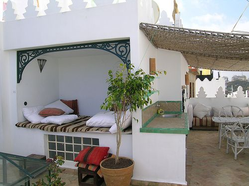 La Tangerina Hotel, Tangier Morocco. One of the best places I have ever relax on!