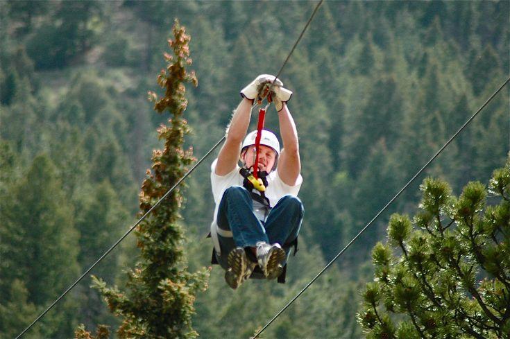 Zip Lining Colorado