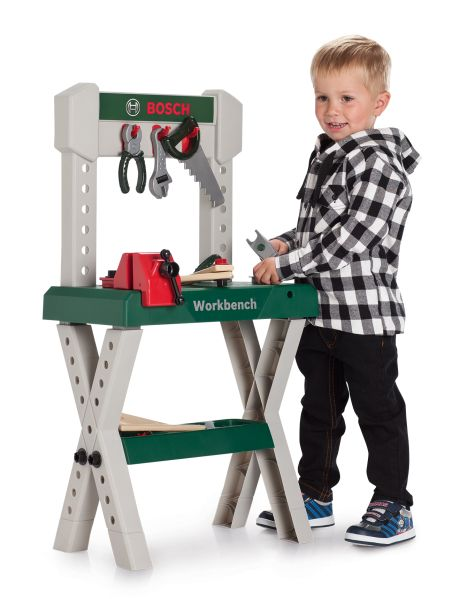 A child size and height workbench to get them learning their DIY.
