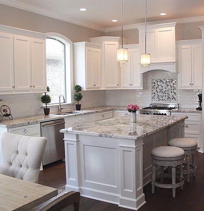 Clever Kitchen Island Design Decorating Ideas 5 Yellowraises White Kitchen Interior Modern Kitchen Design White Kitchen Design