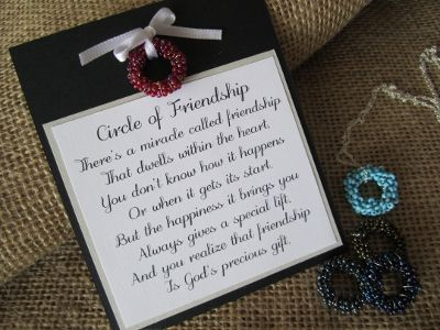 Circle of Friendship Poem | Friendship poems, Wedding poems, Gift quotes