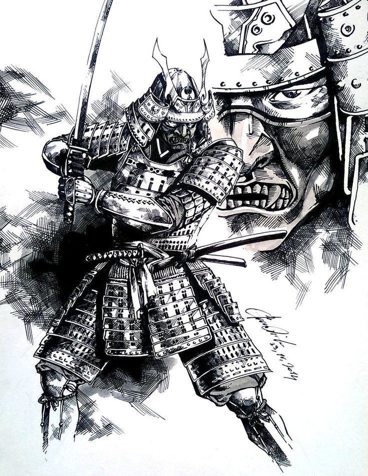 youtube how to draw a samurai