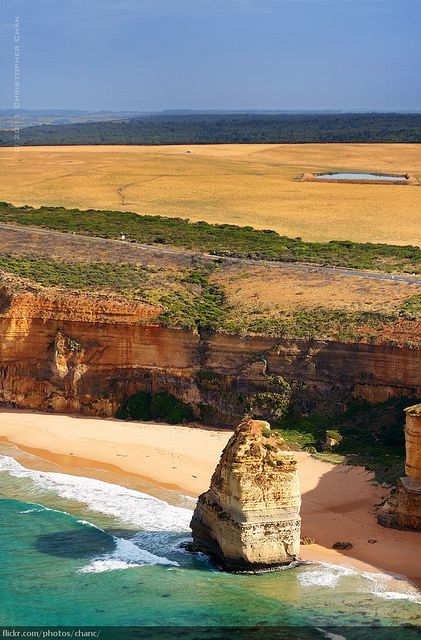 The Great Ocean Road, Victoria by Christopher Chan, via Flickr