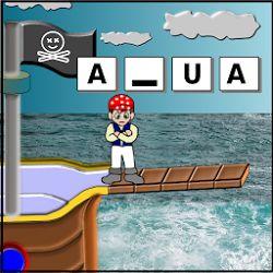 También a través de las TIC podemos trabajar la lecto-escritura. Con el ahorcado por ejemplo, los niños trabajarán las letras y las palabras de manera interactiva y divertida!