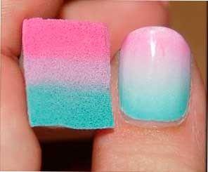 Decoración y diseños de uñas - Los 20 mejores diseños para uñas degradadas - #decoracion #uñas #nail #design #nailart