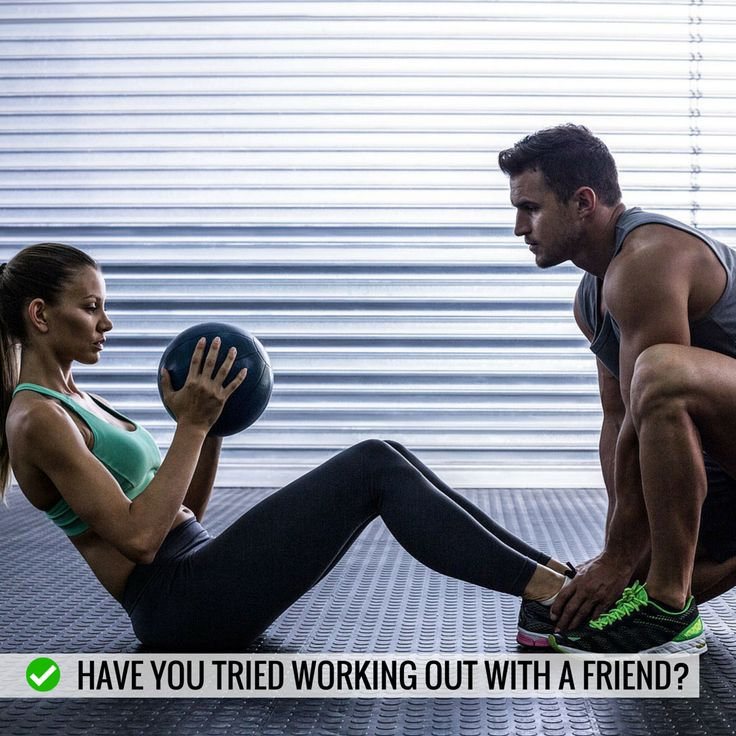 Sometimes we all look for an excuse to skip a training session, especially when it's cold in winter! Working out with a friend can help keep you accountable for turning up. Once you are there you'll be thankful. Do you work out with a friend?