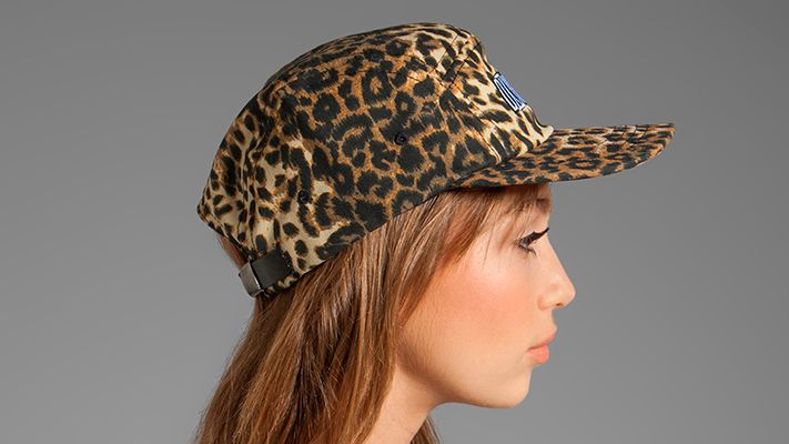 Leopard Cap | Znaffle, #Znaffle, #BeckyG, #StealHerStyle, #WhatStarsWear, Spot this brand performing in the original music video, http://znaffle.com/videos/becky-g-play-it-again-537