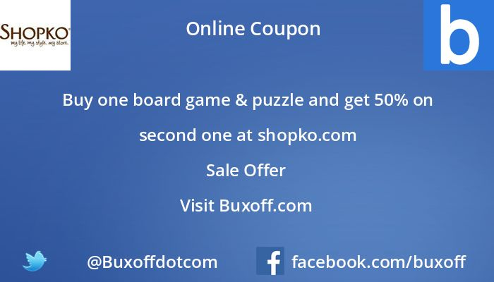 Latest shopko Coupon on Buxoff Visit to know more