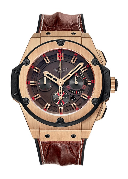 King Power Arturo Fuente King Gold 48mm Chronograph watch from Hublot