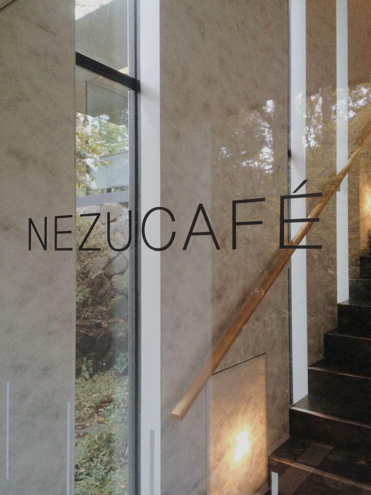 Nezu Cafe Transparent entrance
