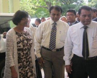 UN Human Rights Commissioner Navaneetham Pillay visits Trincomalee today.