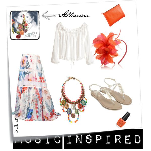 """""""Music Inspired! - India Martinez, Dual [Spain]"""" by luna84 on Polyvore"""
