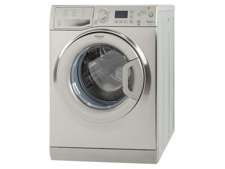Compre a Máquina de Lavar Roupa HOTPOINT-ARISTON WMG922X em Inox, com capacidade de 9 Kg, classe energética A++ e velocidade de centrifugação até 1200 rpm em Worten.pt
