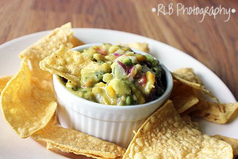 The Curious Country Cook....: Mango-Avocado SalsaAvocado Mango, Mango Avocado Salsa Via, Avacado Salsa, Corn Chips, Mangoavocado Salsa, Country Cooking, Appetizers, Mango Salsa, Curious Country