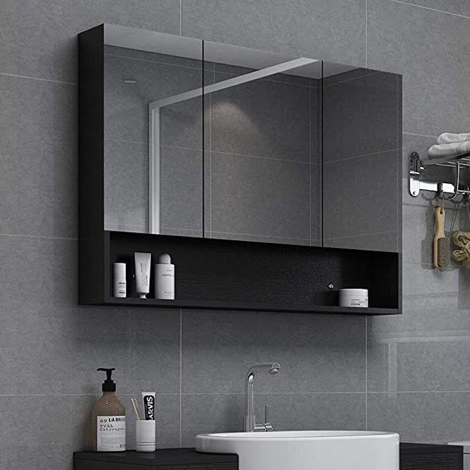 Rkrzlb Mirrored Cabinet Wall Mirror Cabinet Wall Mounted Bathroom Mirror Led Illuminated Bathroom Mirro In 2020 Mirror Cabinets Bathroom Mirror Bathroom Mirror Cabinet