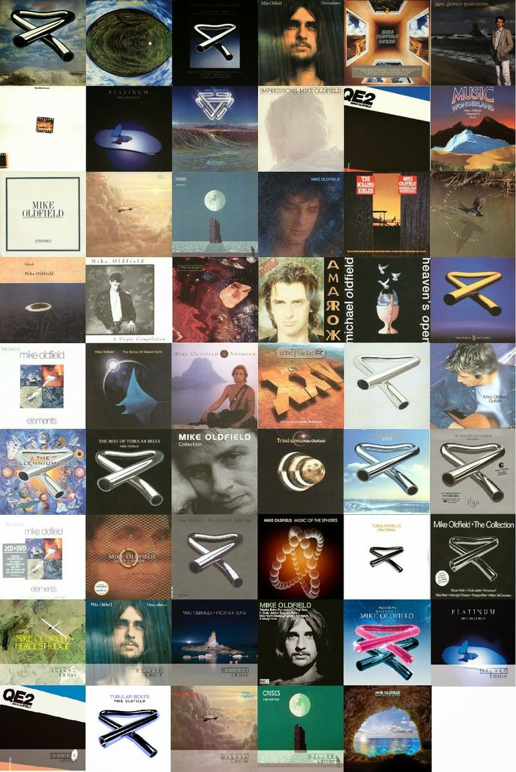 Mike oldfield albums