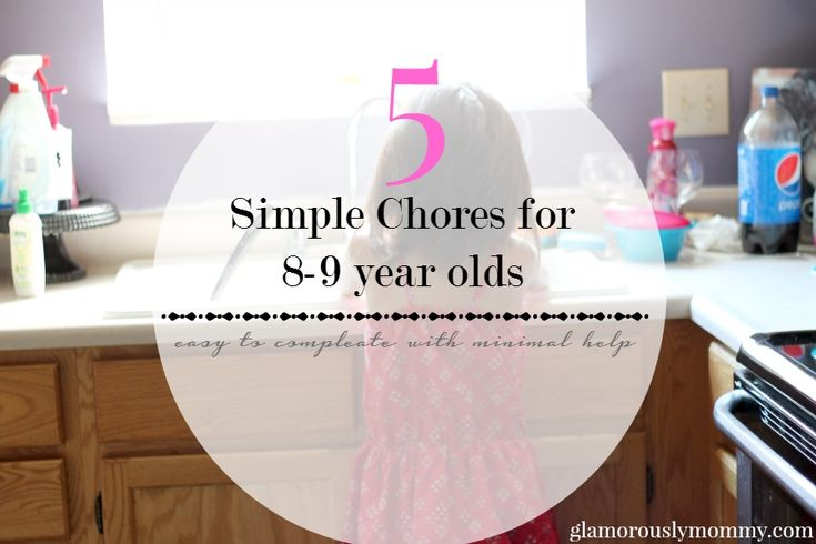 Teaching responsibility to your children is important. Introducing a simple list of chores is a good way to start. I'm sharing % Chores for a 8-9 year old.