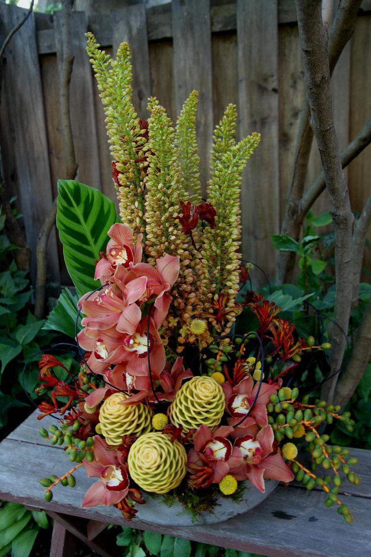 outdoor flower design