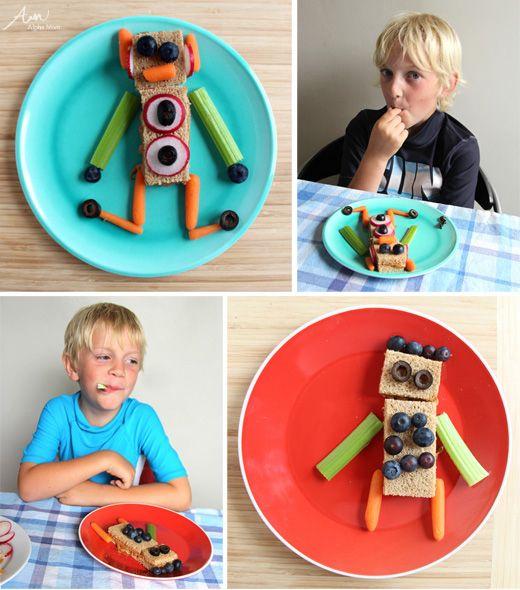 DIY Robot SnacksFamily Fun Activities, Kids Lunches, For Kids, Kids Please Diy, Families Fun Activities, Kids Snacks, Future Families, Creative Kids, 50 Things
