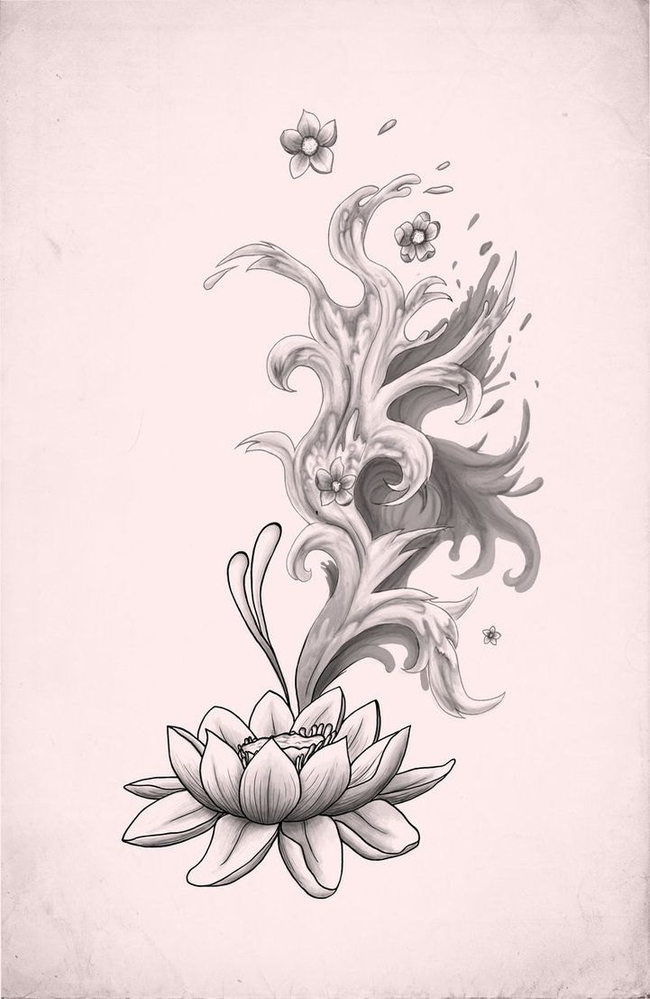 80 best lotus red and not red images on pinterest lotus flowers tattoo with lotus flower lotus tattoo by xxmortanixx on deviantart izmirmasajfo