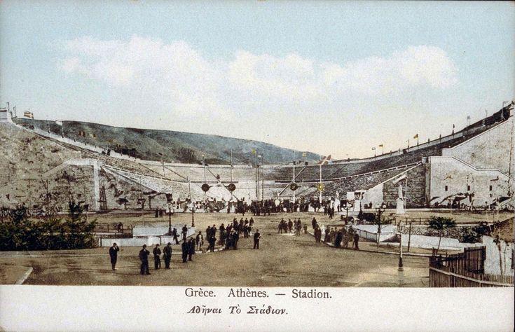 JO athenes 1896 stade olympique