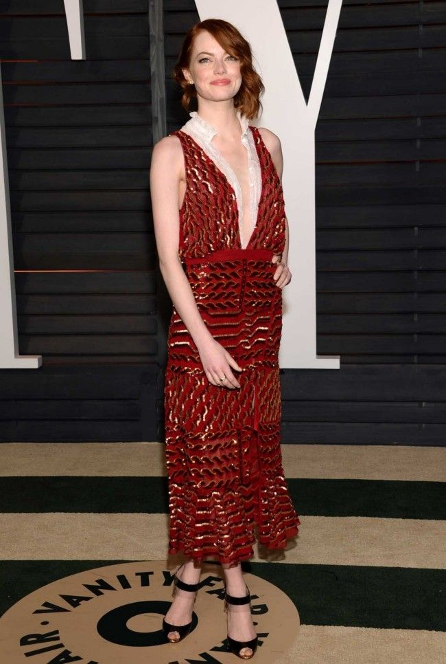 58 best The 2015 Vanity Fair Oscars Party Red Carpet :) images on ...