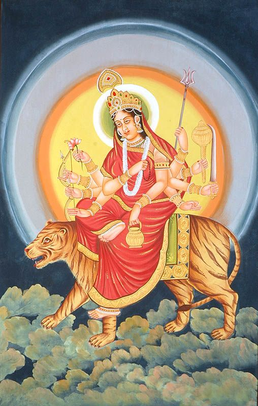 Chandraghanta Third Day of Navratri : September 27 Saturday, 2014 Maa Chandraghanta is the third Shakti of Maa Durga. In Durga Pooja the third day of Navratri is very important in Navaratri. This day the mind of the sadhak enters…