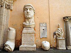 Museos Capitolinos, estatuas colosales