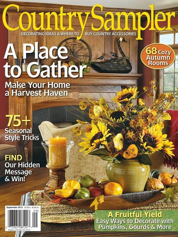 September Decorating Ideas best 25+ country sampler magazine ideas on pinterest | country
