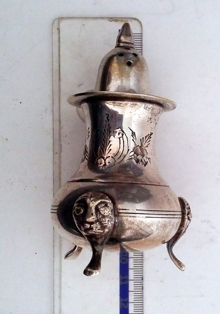 Salt Pepper shaker Sterling Silver | Antiques, Silver, Sterling Silver (.925) | eBay!