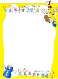 Resultado de imagen para bordes de pagina word infantiles