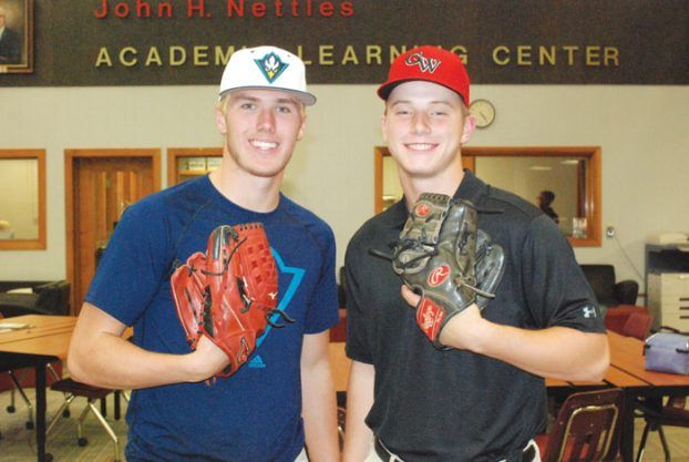 High school baseball: Fisher, Rusher sign with D-I schools