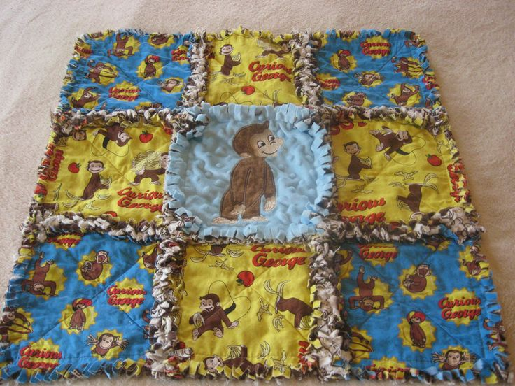 303 Best Rag Quilt Images On Pinterest Rugs Baby Quilts
