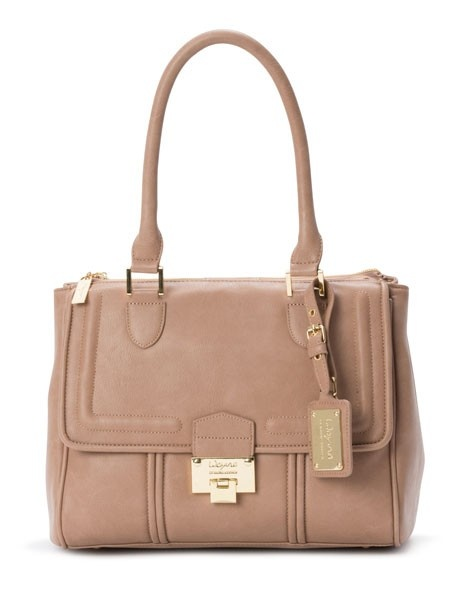 Wayne by Wayne Cooper | 'Dani' Tote in Taupe WH-1145 | Myer Online