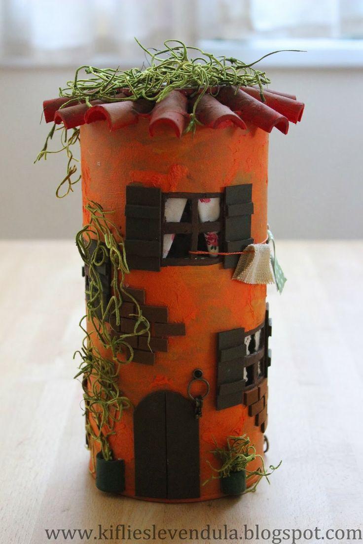 Kifli és levendula: Mediterrán ház hengerdobozból
