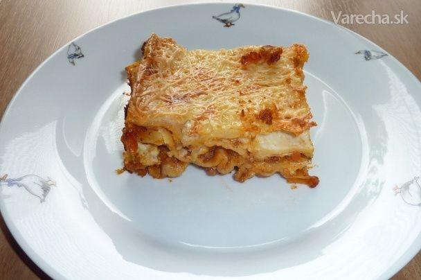 Čarovné lasagne - Recept
