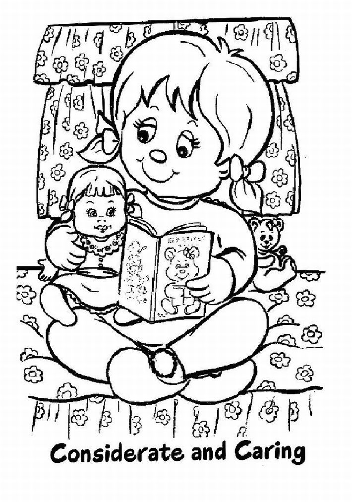 pajamas / Articles / Girl Scout Coloring Pages How To