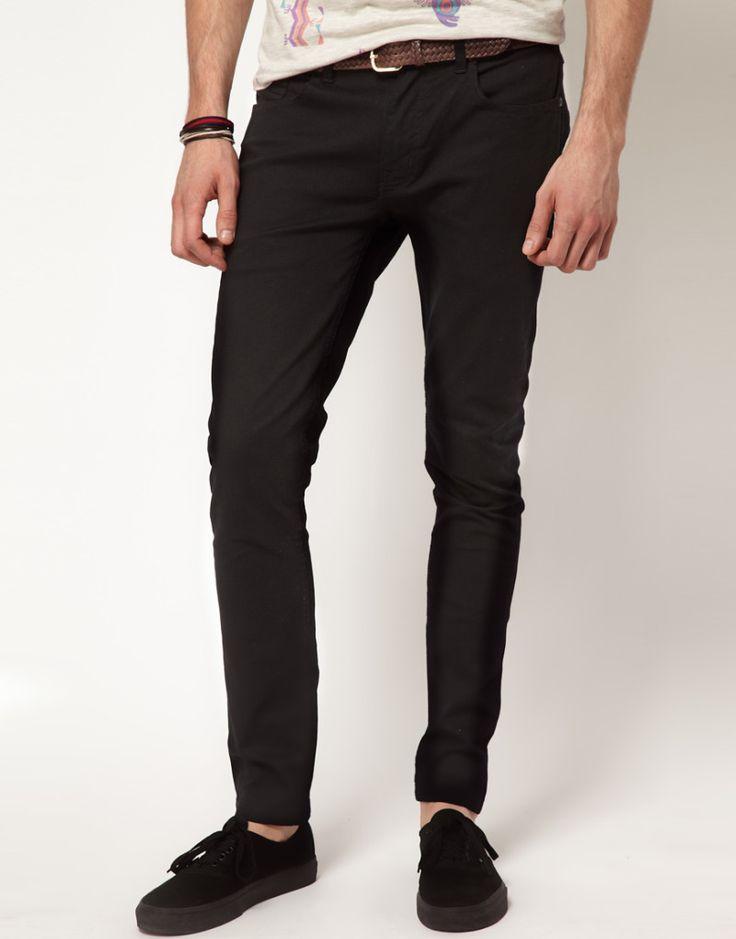 Handsome Black Skinny Jeans