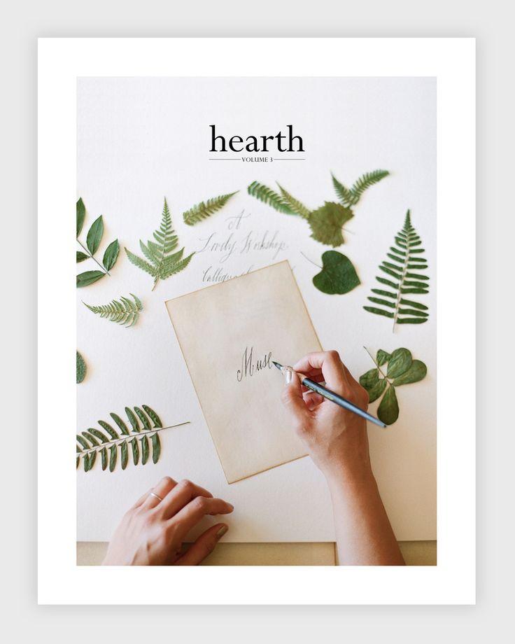 hearth magazine   volume 3.