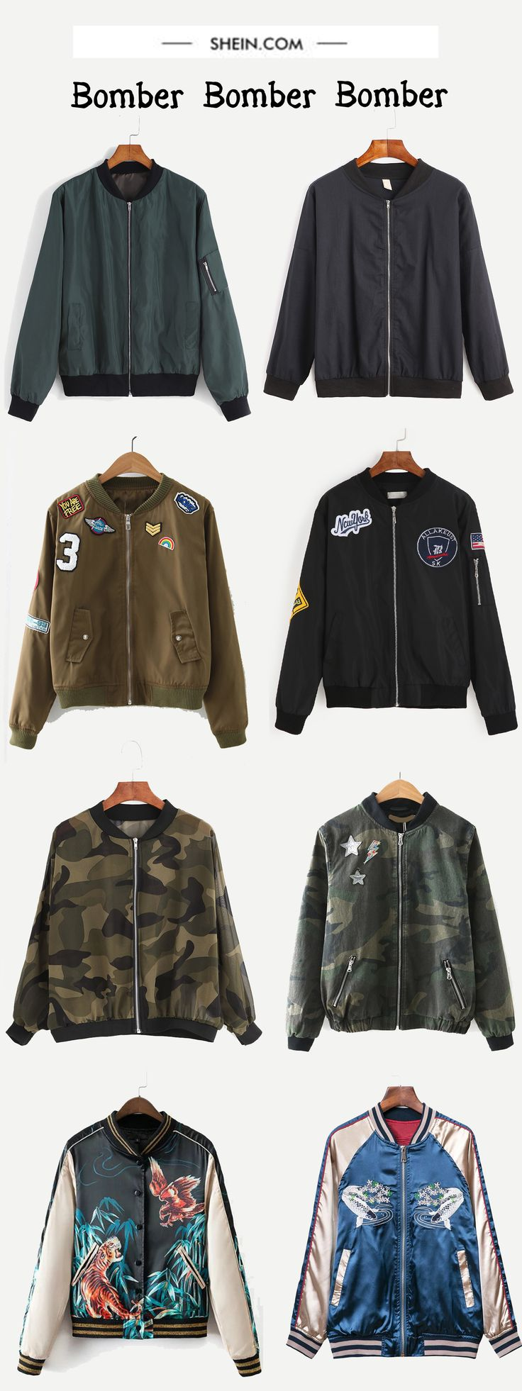 Bomber jacket gets trendy for so long! And the trendy trends on still!