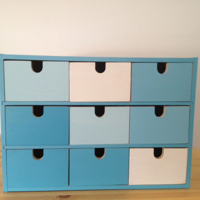 Ikea MOPPE  FIRA  MACKIS  mini chest of drawers  painted different shades of. 17 Best images about IKEA  mini drawer chest hacks  FIRA  MACKIS
