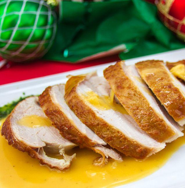 Pechugas de pavo en salsa de naranja NESFRUTA®