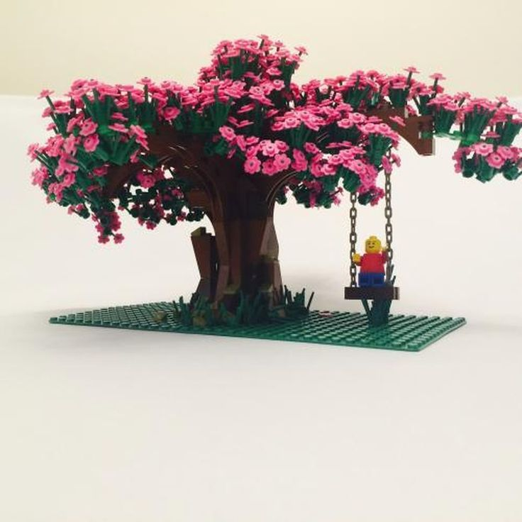 LEGO MOC MOC-2358 Cherry Blossom Tree - building instructions and parts list.
